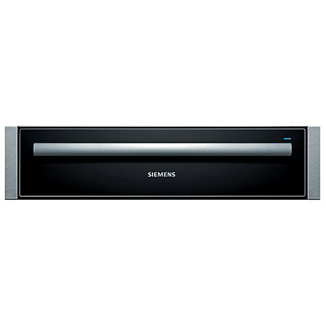 Buy Siemens HW140562B Built-In Warming Drawer, Stainless Steel Online at johnlewis.com