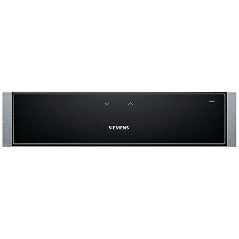 Buy Siemens HW1405P2B Built-In Warming Drawer, Stainless Steel Online at johnlewis.com