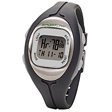 Buy Sportline Solo 915 Women's Any Touch Calorie Heart Rate Watch, Grey Online at johnlewis.com