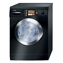 Buy Bosch Exxcel WVD2452BGB Washer Dryer, 5kg Wash/2.5kg Dry Load, C Energy Rating, 1200rpm Spin, Black Online at johnlewis.com