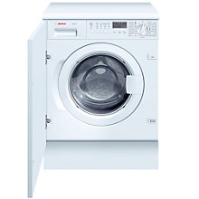 Buy Bosch WIS28440GB Integrated Washing Machine, 7kg Load, A Energy Rating, 1400rpm Spin Online at johnlewis.com