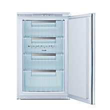 Buy Bosch GID18A20GB Integrated Freezer, A+ Energy Rating, 54cm Wide Online at johnlewis.com