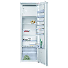 Buy Bosch KIL38A50GB Tall Integrated Fridge with Freezer Compartment, A+ Energy Rating, 54cm Wide Online at johnlewis.com