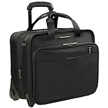 Buy Briggs & Riley 15.4'' Laptop 2-Wheel Briefcase, Black Online at johnlewis.com