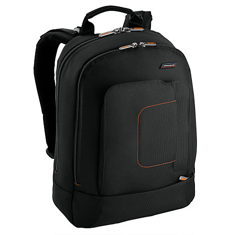"Buy Briggs & Riley Glide 15"" Laptop Backpack, Black Online at johnlewis.com"