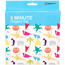 Buy 5 Minute Origami Set Online at johnlewis.com