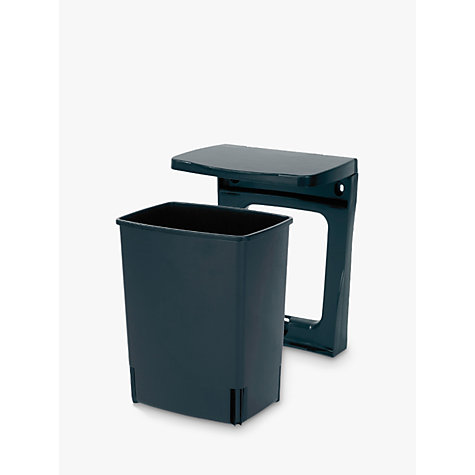 Buy Brabantia Built in Bin, Black, 10L Online at johnlewis.com