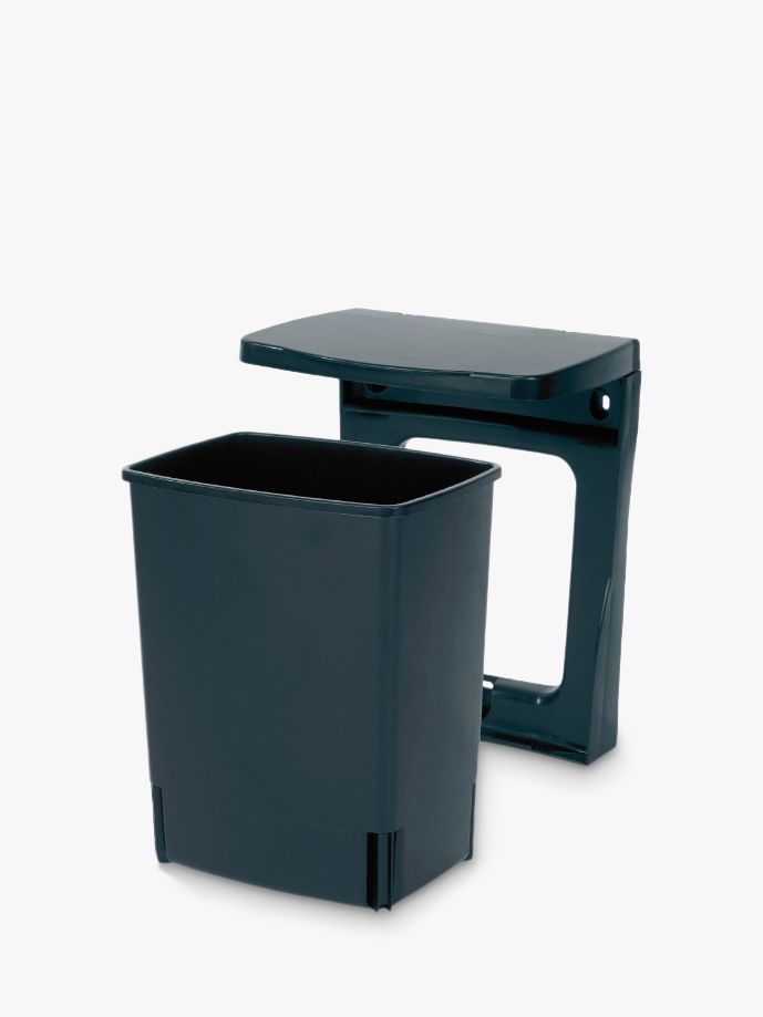 Built in Bin, Black, 10L 167201