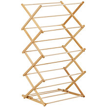Buy John Lewis Beech Wood Airer Online at johnlewis.com