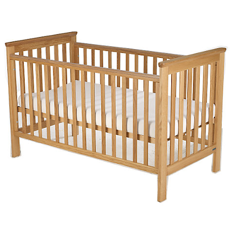 Buy John Lewis Lasko Cotbed, Oak Online at johnlewis.com