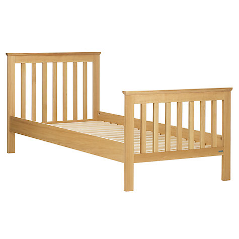 Buy John Lewis Lasko Solid Oak Single Bedstead, Natural Online at johnlewis.com