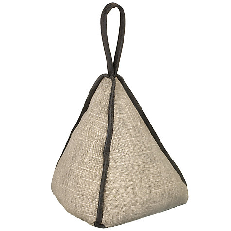 Buy Linen Pyramid Door Stop Online at johnlewis.com