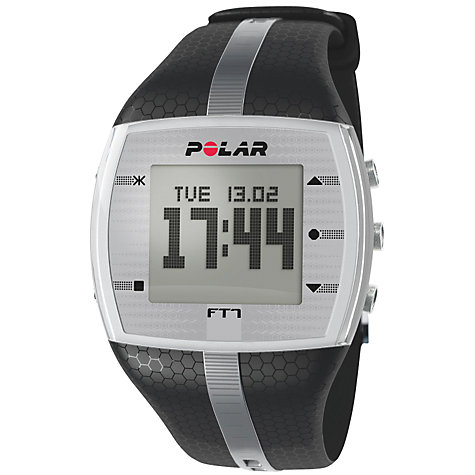 Buy Polar F7 Men's Heart Rate Monitor, Black Online at johnlewis.com