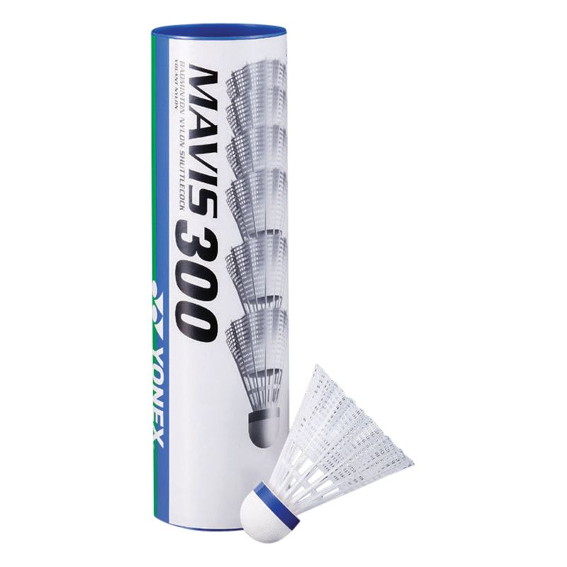 Yonex Yonex Mavis 300 Shuttlecocks, Pack of 6, White