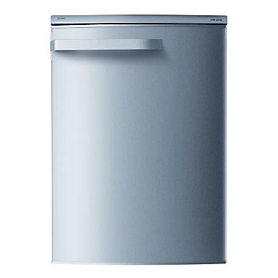 John Lewis JLUCLFS6007 Larder Fridge, A+ Energy Rating, 60cm Wide, Stainless Steel Look