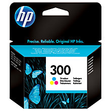 Buy HP 300 Inkjet Cartridge, Colour Online at johnlewis.com