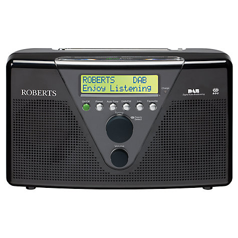 Buy ROBERTS Duologic DAB Digital Radio Online at johnlewis.com
