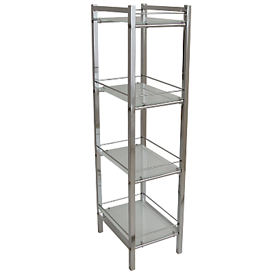 John Lewis Ice 4 Tier Shelf Unit