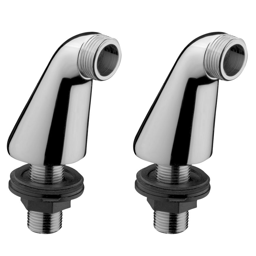Hansgrohe Hansgrohe Chrome Piller Unions