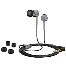 Buy Sennheiser CX200-II Street In-Ear Headphones, Silver Online at johnlewis.com