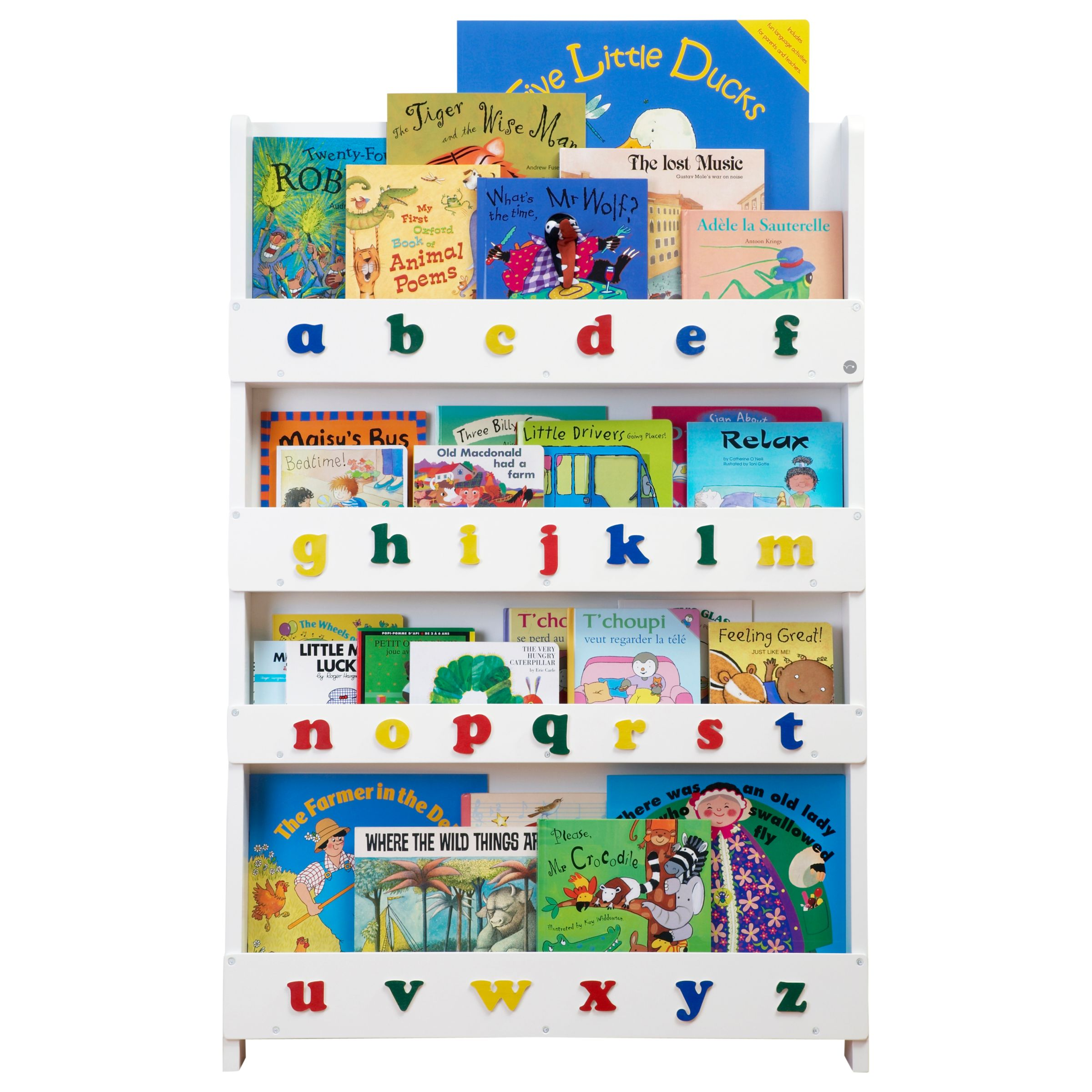 Tidy Books Tidy Books ABC Bookcase