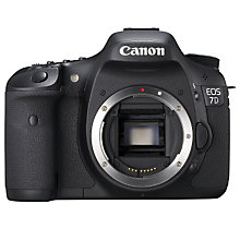 "Buy Canon EOS 7D Digital SLR Camera, HD 1080p, 18MP, 3"" LCD Screen, Body Only Online at johnlewis.com"