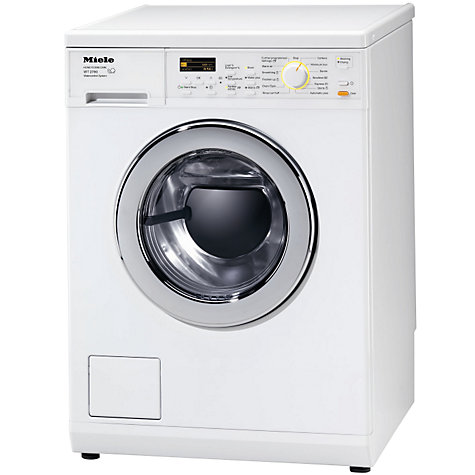 Buy Miele WT2780 Washer Dryer, 5kg Wash/3kg Dry Load, A+ Energy Rating, 1600rpm Spin, White Online at johnlewis.com