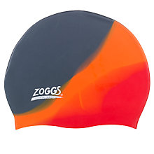 Buy Zoggs Silicone Swimming Cap, Multicoloured Online at johnlewis.com
