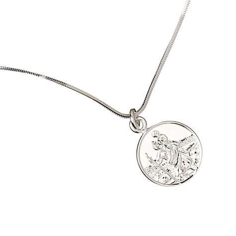 Buy Tales From The Earth St. Christopher Necklace Online at johnlewis.com
