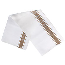 Buy John Lewis Linen Glass Cloth White / Natural Online at johnlewis.com