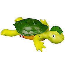 Buy Tomy Swimming Turtle Bath Toy Online at johnlewis.com