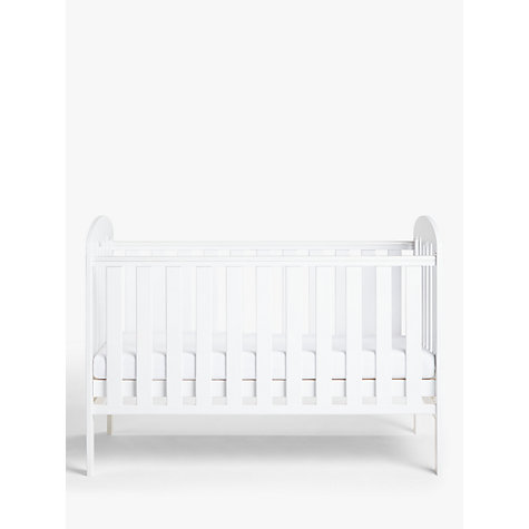 Buy John Lewis Rachel Cotbed, White Online at johnlewis.com