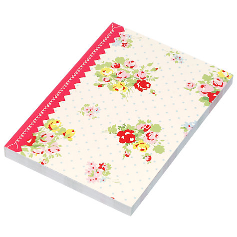 Buy Cath Kidston Lined Posies Journal Online at johnlewis.com