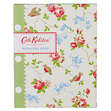 Buy Cath Kidston Notecard Book & Envelopes, Set of 20 Online at johnlewis.com
