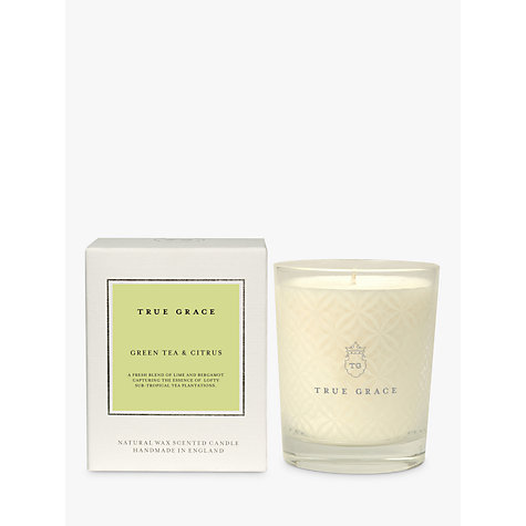 Buy True Grace Green Tea & Citrus Candle Online at johnlewis.com