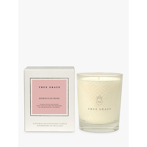 Buy True Grace Moroccan Rose Classic Candle Online at johnlewis.com