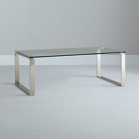 Buy John Lewis Frost Coffee Table, Glass Online at johnlewis.com