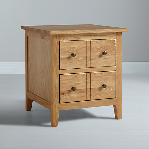 Buy John Lewis Grove 2 Drawer Lamp Box Online at johnlewis.com