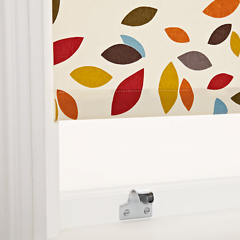 Buy John Lewis Scattered Leaves Roller Blinds, Multi Online at johnlewis.com