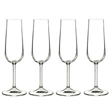 Buy John Lewis Juno Champagne Flutes, 0.17L, Set of 4 Online at johnlewis.com