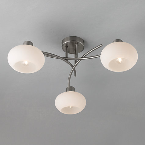 Buy john lewis elio ceiling light 3 arm john lewis for Ceiling lights for living room philippines