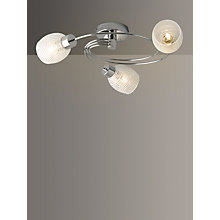 Buy John Lewis Maya Celing Light, 3 Arm Online at johnlewis.com