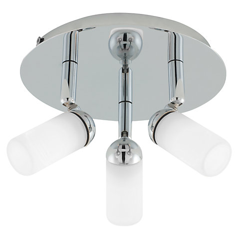 Buy John Lewis Riva 3 Bathroom Spotlight Ceiling Plate Online at johnlewis.com