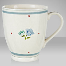 Buy John Lewis Polly's Pantry Footed Mug, Flower Online at johnlewis.com