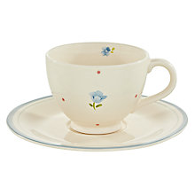 Buy John Lewis Polly's Pantry Cup and Saucer Set Online at johnlewis.com