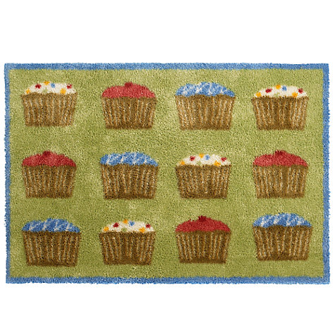 Buy Turtle Mat Cupcake Kitchen Mat, Multi, L85 x W60cm Online at johnlewis.com