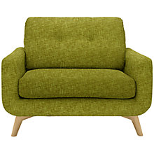 Buy John Lewis Barbican Snuggler with Light Legs, Henley Olive Online at johnlewis.com