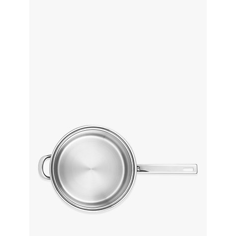 Buy John Lewis Classic Lidded Saucepan with Helper Handle, 22cm, 3.7L Online at johnlewis.com