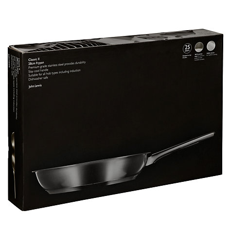 Buy John Lewis Classic II Frying Pan , 28cm Online at johnlewis.com