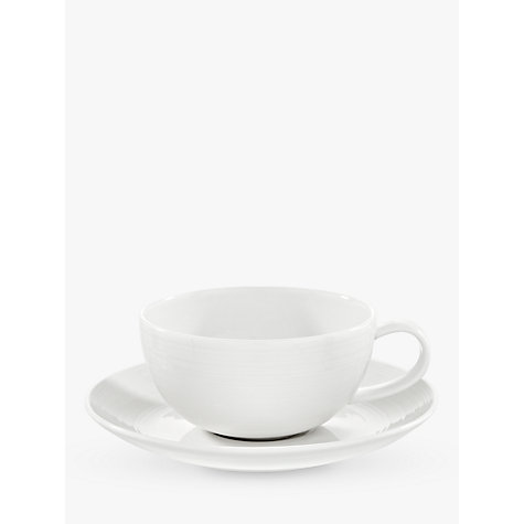 Buy John Lewis Luna Cup and Saucer Online at johnlewis.com
